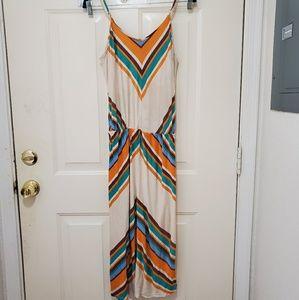 Patterned Maxi Dress
